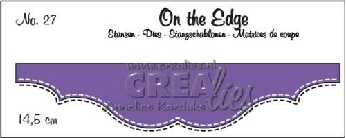 Crealies - Die - On the Edge - No. 27 - CLOTE27