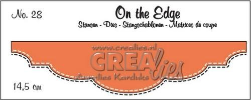 Crealies - Die - On the Edge - No. 28 - CLOTE28