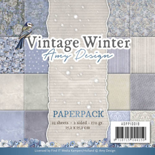 Amy Design - Paperpack - Vintage Winter - ADPP10019