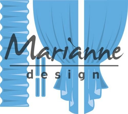 Marianne Design - Die - CreaTables - Curtains - LR0502