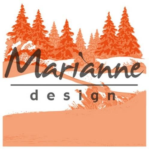 Marianne Design - Design Folder - Extra Winterwood - DF3441