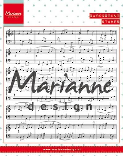 Marianne Design - Clearstamp - Music Notes - CS0997