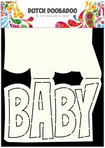 Dutch Doobadoo - Card Art - Text baby - 470.713.647