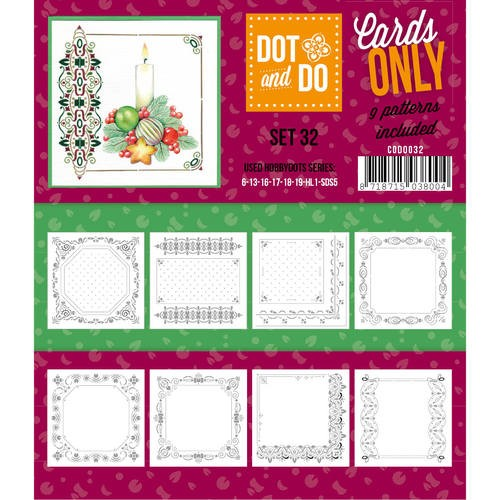 Card Deco - Oplegkaarten - Dot & Do - Cards Only - Set 32 - CODO032