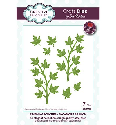 Creative Expressions - Die - The Finishing Touches Collection - Sycamore Branch - CED1492