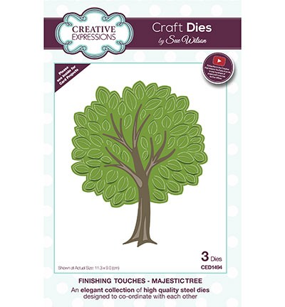 Creative Expressions - Die - The Finishing Touches Collection - Majestic Tree - CED1494
