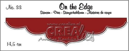Crealies - Die - On the Edge - No. 33 - CLOTE33