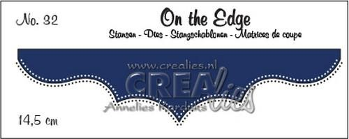 Crealies - Die - On the Edge - No. 32 - CLOTE32