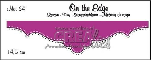 Crealies - Die - On the Edge - No. 34 - CLOTE34