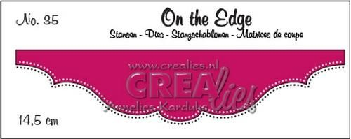 Crealies - Die - On the Edge - No. 35 - CLOTE35