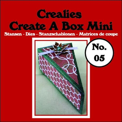 Crealies - Die - Create-A-Box - Mini - Taartpunt - CCABM05