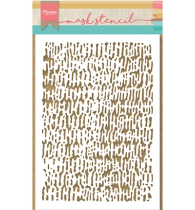 Marianne Design - Maskingstencil - Tiny`s faded corduroy - PS8002