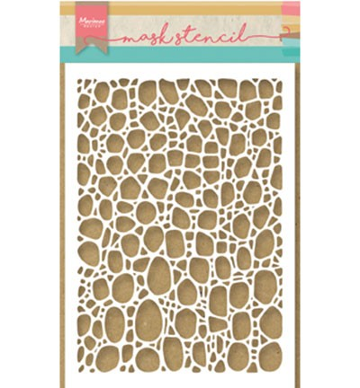 Marianne Design - Maskingstencil - Tiny`s cobble stone - PS8001