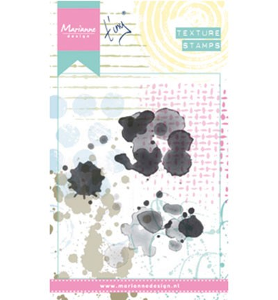 Marianne Design - Tiny`s - Cling stamp - Tiny`s stains - MM1617