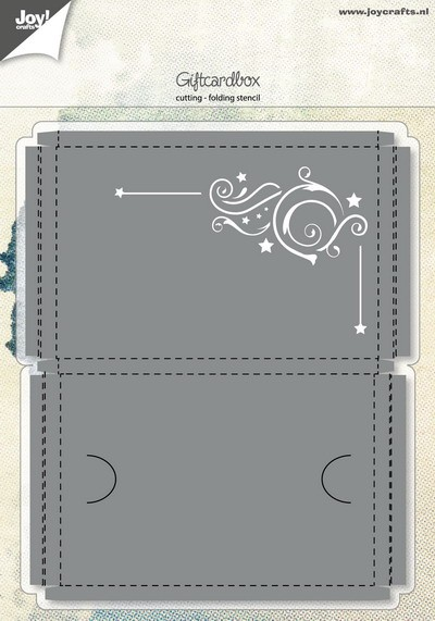 Joy! crafts - Die - Giftcardbox - 6002/0981
