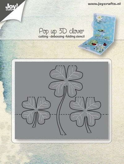 Joy! crafts - Die - Pop up - 3D clover - 6003/2016