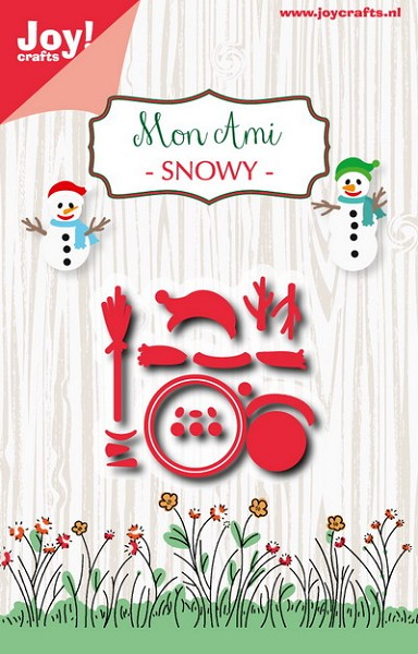 Joy! crafts - Noor! Design - Die - Mon Ami - Snowy - 6002/0927