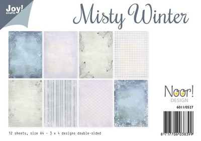Joy! crafts - Noor! Design - Paperset - Misty - Winter - 6011/0527
