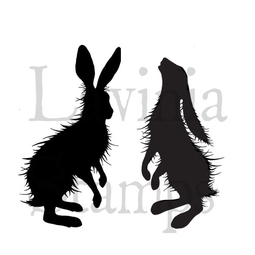 Lavinia Stamps - Clearstamp - Woodland Hares - LAV409
