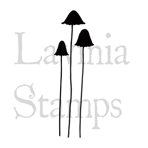 Lavinia Stamps - Clearstamp - Quirky Mushrooms - LAV413