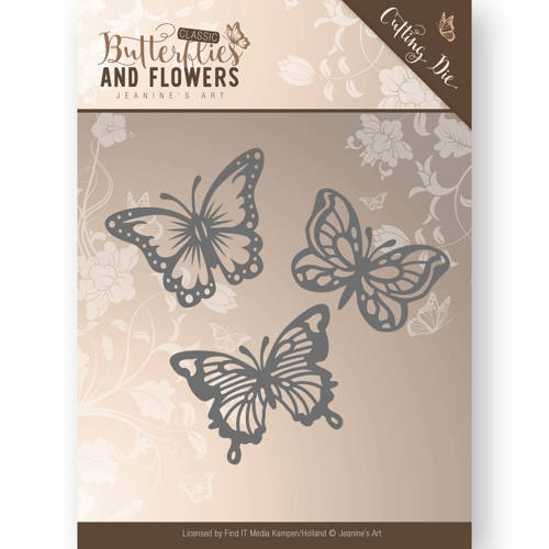 Jeanine`s Art - Die - Classic Butterflies and Flowers - Butterflies - JAD10024