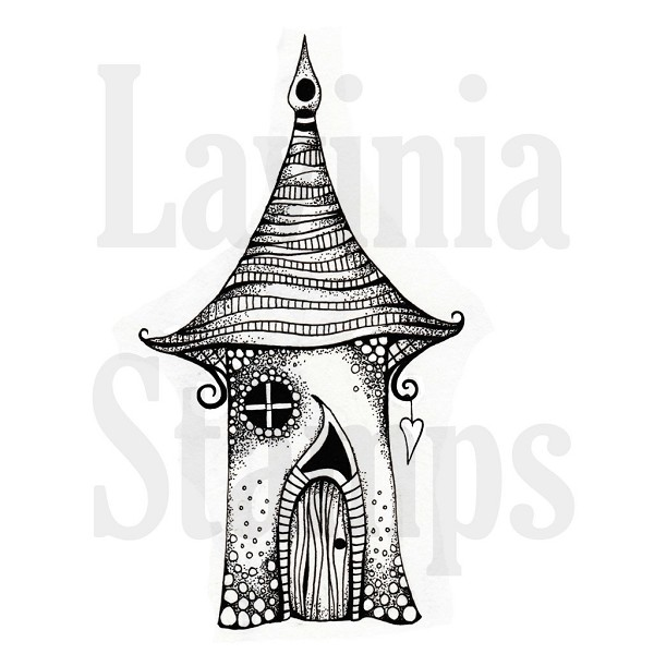 Lavinia Stamps - Clearstamp - Freya`s House - LAV365