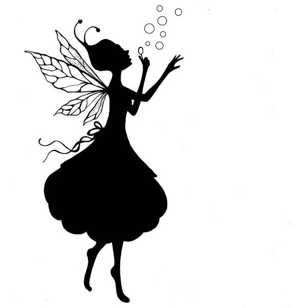 Lavinia Stamps - Clearstamp - Giselle Silhouette (large) - LAV232