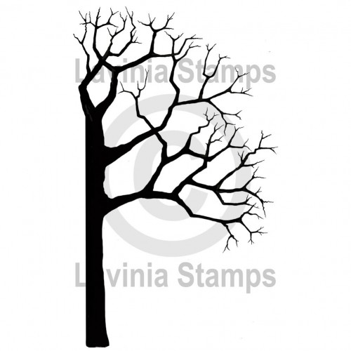 Lavinia Stamps - Clearstamp - Tree Half R2 - LAV455