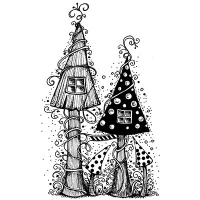 Lavinia Stamps - Clearstamp - Fairy House - LAV030