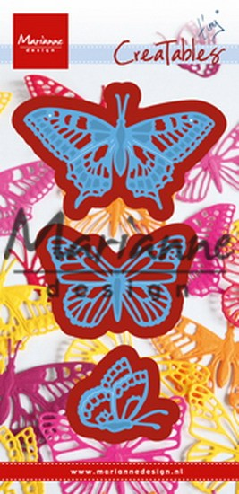 Marianne Design - Die - CreaTables - Tiny`s Butterflies set - LR0509
