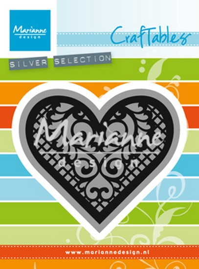 Marianne Design - Die - Craftables - Lace Heart - CR1428