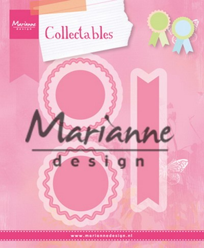 Marianne Design - Die - Collectables - Rosettes & labels - COL1444