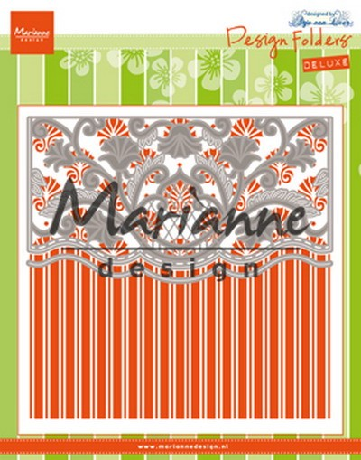 Marianne Design - Design Folder - Anja`s Ornamental Border - DF3443