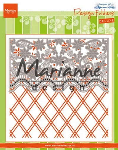 Marianne Design - Design Folder - Anja`s Flower Border - DF3444