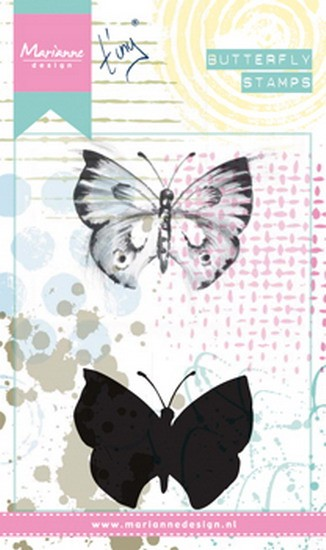 Marianne Design - Tiny`s - Cling Stamp - Butterfly 1 - MM1613