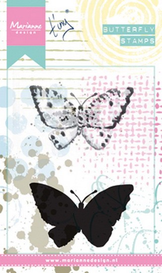Marianne Design - Tiny`s - Cling Stamp - Butterfly 2 - MM1614