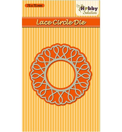 Nellie Snellen - Die - Hobby Solution - Lace Circle - HSDJ008