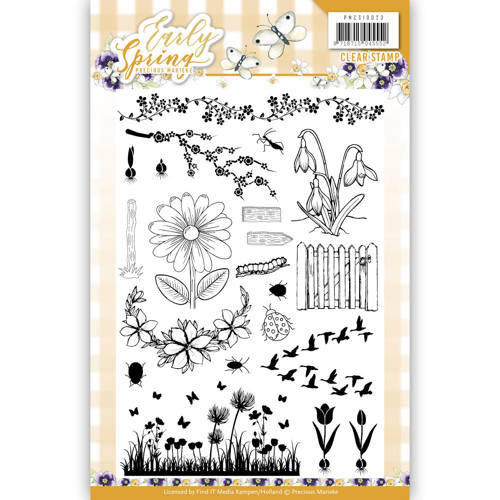 Precious Marieke - Clearstamp - Early Spring - PMCS10023