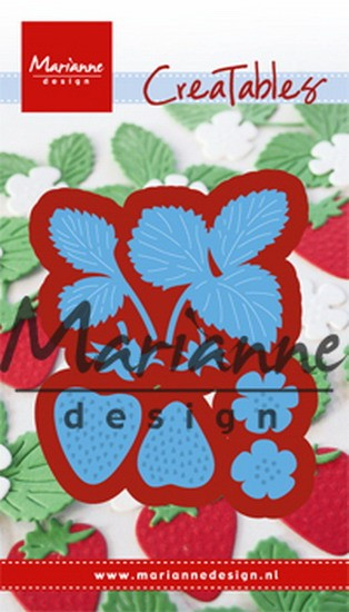 Marianne Design - Die - CreaTables - Strawberries - LR0510