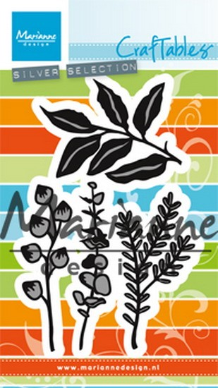 Marianne Design - Die - Craftables - Herbs & leaves - CR1432