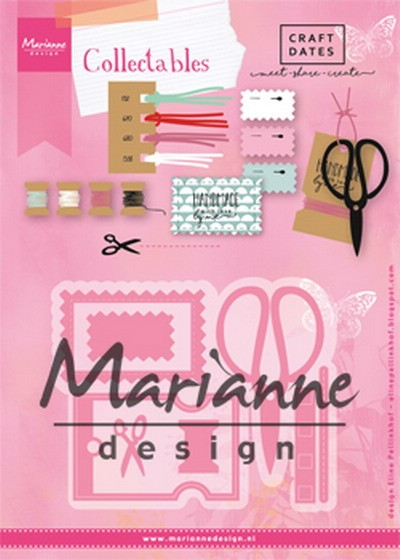 Marianne Design - Die - Collectables - Eline`s craft dates - COL1445