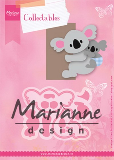 Marianne Design - Die - Collectables - Eline`s koala & baby - COL1448