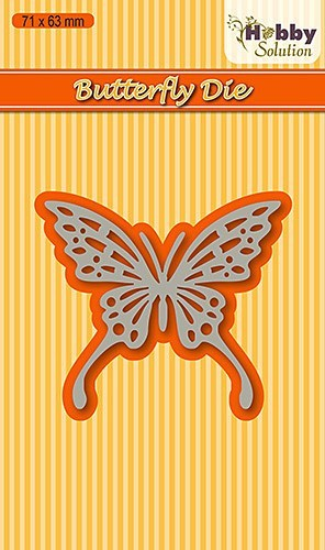 Nellie Snellen - Die - Hobby Solution - Butterfly-2 - HSDJ005