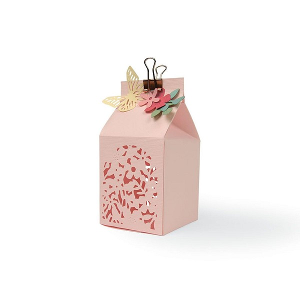 Sizzix - Die - Thinlits - Floral Favour Box - 662857