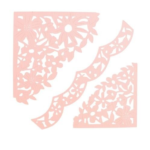 Sizzix - Die - Thinlits - Decorative Corners - 662861