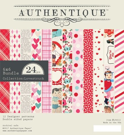 Authentique - Paperpack - Collection: Lovestruck - LVS010