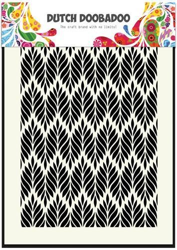 Dutch Doobadoo - Maskingstencil - A5 - Floral leaves - 470.715.123