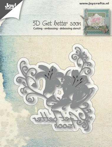 Joy! crafts - Die - 3D Get better soon - 6002/0984