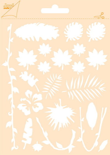 Joy! crafts - Maskingstencil - Oerwoud - 6002/0851