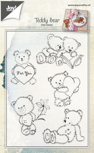 Joy! crafts - Clearstamp - Teady bear - 6410/0460